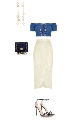 """Untitled #551"" by aayushi3912 on Polyvore featuring River Island, Gucci, Arme De L'Amour and Chanel"