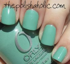 *Orly - Ancient Jade (Precious Collection Spring 2011) / ThePolishaholic