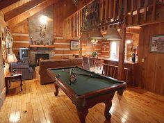 Log Heaven- 4 Bedroom, 3 Bathroom Cabin Rental in Pigeon Forge, Tennessee.