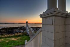 Marshall Point Lighthouse by Kaushik A C, via 500px