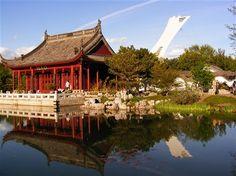 Montreal Botanical Garden   features 26,000 different plant species
