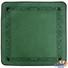 Achetez votre Tapis Feutre Vert (77/77 cm) sur Poker-production.com