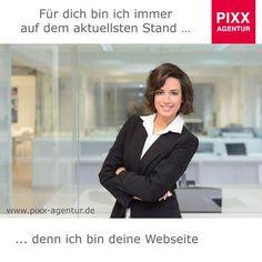 Für dich bin ich immer auf dem aktuellsten Stand … denn ich bin deine #Webseite #Aktualität heißt mehr #Produktivität.  Damit Sie sich keine Gedanken mehr um die Aktualität Ihrer #Webseite machen müssen, bieten wir Ihnen einen umfassenden Pflege- und #Aktualisierungsservice an. www.pixx-agentur.de/webseiten-gestaltung/