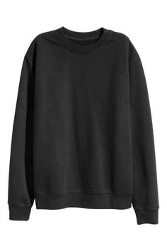 Jumper in soft fine-knit merino wool with ribbing around the neckline, cuffs and hem.