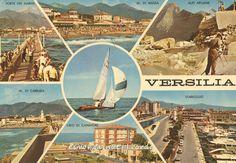 1974 – VERSILIA - Forte dei marmi - Marina di Massa - Alpi Apuane - Carrara - Lido di Camaiore - Viareggio