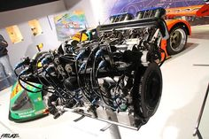 Mazda R26B Rotary Racing Engine.