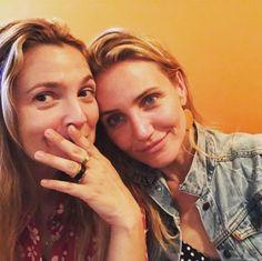 Actu : Cameron Diaz : Drew Barrymore partage une photo adorable de leurs retrouvailles sur Instagram