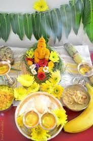 Image result for ganesha made in turmeric at homes