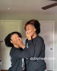 Yall Support @prettyluhlaii and @thereald1.nayah ?! Tbh They Cute To Me - - -  Follow @pimpmyeditss for more #jxk180... Cute Baby Couple, Cute Black Couples, Cute Lesbian Couples, Dyke Girls, Cute Girls With Braces, Black Baby Girls, Black Lesbians, Brace Face, Best Friend Outfits
