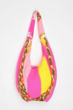 Urban Renewal Crocheted Hobo Bag  #UrbanOutfitters