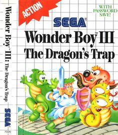 Wonder Boy 3 Dragons Trap for the Sega Master System