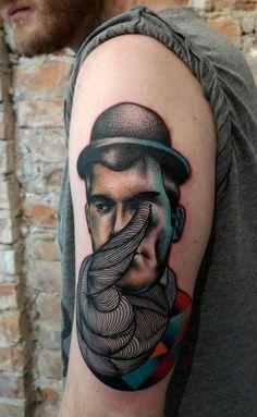 tattoos by Mariusz Trubisz