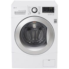 Buy LG FH4A8TDN2 Freestanding Washing Machine, 8kg Load, A+++ Energy Rating, White Online at johnlewis.com