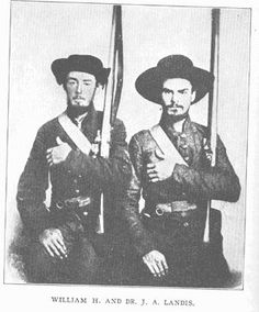 Pvt. William H. Landis And Pvt. J. A. Landis, Company F, 23rd Tennessee.