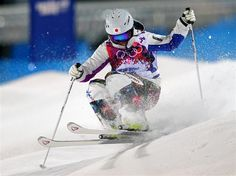 U almost made it! Aiko.  Sochi 2014 Day 2 - Freestyle Skiing Ladies' Moguls Finals