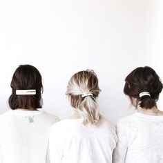 Super cute and easy hairstyle. Recreate this with these hair accessories: http://asos.do/U5w6XT http://asos.do/gdw5Ga http://asos.do/dDwZQZ