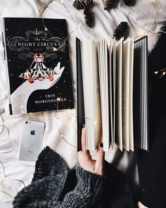 "1,084 Likes, 11 Comments - sally | xvii | united states ☾ (@mybookacademy) on Instagram: """"The circus arrives without warning. No announcements precede it. It is simply there, when…"""