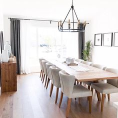 This kind of Dining Room walls is seriously a stunning design conception. 12 Person Dining Table, Large Dining Room Table, Table For 12, Modern Dining Table, Dining Table In Kitchen, Dining Room Design, Dining Chairs, 12 Seater Dining Table, Dinner Room Table