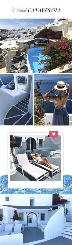 Diário de Bordo Layla Monteiro em Santorini - Grécia. Hotel Canaves Oia.