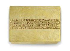 'L'ÉTOILE A PLEURÉ ROSE', A BOX, 1940-1949  |   gilt-bronze  |   1⅛ in. high x 4¼ x 3¼ in.  |   stamped LINE VAUTRIN