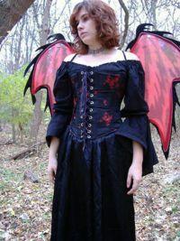 Make a Gothic Fairy Costume
