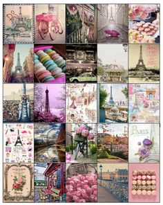 Parisian Themed Stickers for your Erin Condren Life Planner/Inkwell/Plum Planner/Kikki k/Filofax/Journaling- DIGITAL COPY