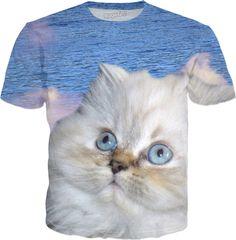 Cat and Water #erikakaisersot #rageon #tshirt #cats