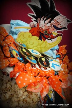 Dragon Ball Z! para Fede! | CatchMyParty.com