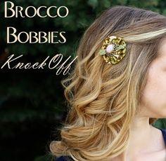 Anthro Knock Off Tutorial - Brocco Bobbies