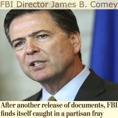 FBI finds itself caught in a partisan fray [The Washington Post] https://www.washingtonpost.com/politics/after-release-of-documents-fbi-finds-itself-caught-in-a-partisan-fray/2016/11/01/9d466908-a068-11e6-8832-23a007c77bb4_story.html ②⓪①⑥ ①① ⓪② #USPolitics