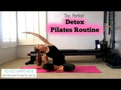 Detox Naturally - A Pilates Workout at Home - YouTube