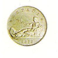 50 céntimos (1869)(*18-69) Madrid SN M - MBC