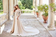 JAMALA wedding dress by OKSANA MUKHA in Charmé Gaby Bridal Gown boutique Tampa Bay FL