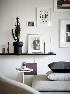 simple and efficient styling by Joanna Bagge for Stadshem