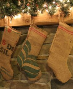 Coffee Bag Stockings