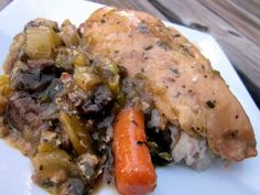 delightful country cookin': smothered slow cooker chicken