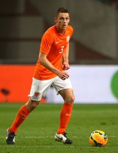 Stefan de Vrij Photos - Stefan de Vrij of Holland attacks during the International Friendly match between The Netherlands and Ecuador at The Amsterdam Arena on May 2014 in Amsterdam, Netherlands. - Netherlands v Ecuador - International Friendly