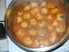 Meatballs made with rice and mint are popular in Mexican cuisine (they can be made with pork, beef, chicken, turkey whatever meat of your ch...