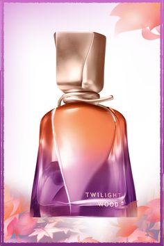 Experience the beauty of twilight in every mist of long-lasting fragrance … #TwilightWoods