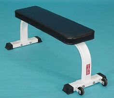 Flat Bench with Wheels -- You can get additional details at the image link.(This is an Amazon affiliate link and I receive a commission for the sales)