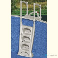 1000 ideas about above ground pool ladders on pinterest pool ladder above ground pool and for Swimming pool ladder replacement parts