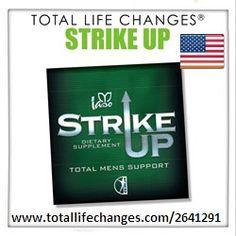 Total Life Changes Hispano Estados Unidos. Una Oportunidad de Negocio Inteligente: Iaso Strike Up for Men™