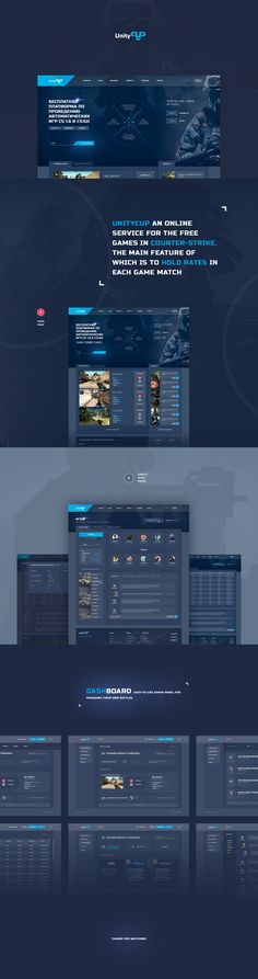 UnityCUP an online service for the free games in Counter-Strike, the main feature of which is to hold rates in each game match.UnityCUP dashboard - easy-to-use admin panel for managing their own battles. Here the user can see your game scores, your bet …