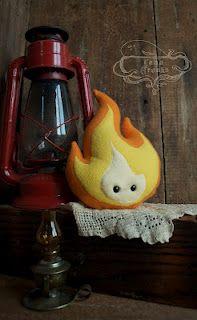 Fire plush! So cute!