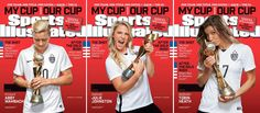 BTS: Sports Illustrated Honors US Women's Soccer Team with 25 Different Covers