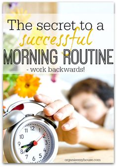 How to create a morning routine - a step by step guide with free printables to get your mornings off to a great start!