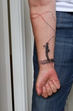 The New Fly Fisher LOVES this tattoo sent in to us form enthusiast Nan Pryce! Tight lines Nan!