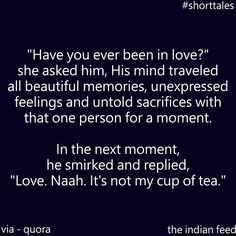 Have you ever been in Love? #Pretty #Short #Stories