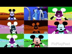 8 Mickey Mouse Clubhouse Theme Songs - YouTube Gummy Bear Song, Gummy Bears, Walt Disney Records, Disney Music, 6 Music, Mickey Mouse Clubhouse, Theme Song, Loose Weight, Disney Characters