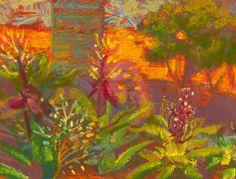 Modern Impressionist Pastel Landscape Study for by RValentiFineArt